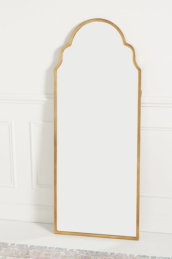 Slide View: 1: Adelaide Floor Mirror