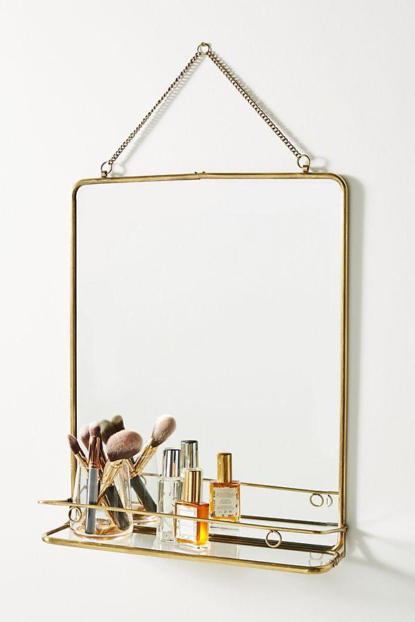 Slide View: 1: Imogene Shelved Mirror