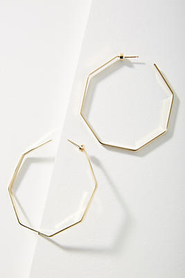 Valentina Hoop Earrings by Jennifer Zeuner Jewelry