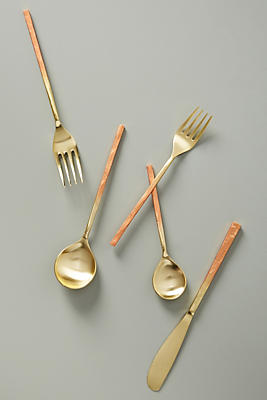 Slide View: 1: Tessa Flatware