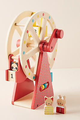 Slide View: 1: Ferris Wheel Toy Set