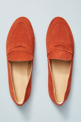 edc2e7237b7 Anthropologie Suede Loafers  118