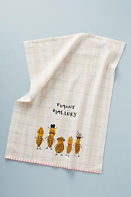 Slide View: 1: Dylan Mierzwinski Peanut Gallery Dish Towel