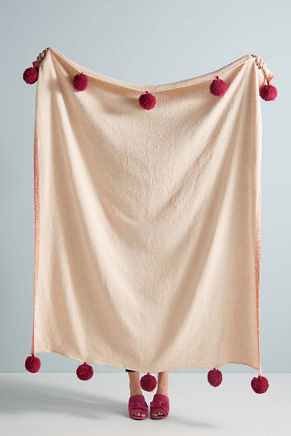 Suvarna Throw Blanket - Orange