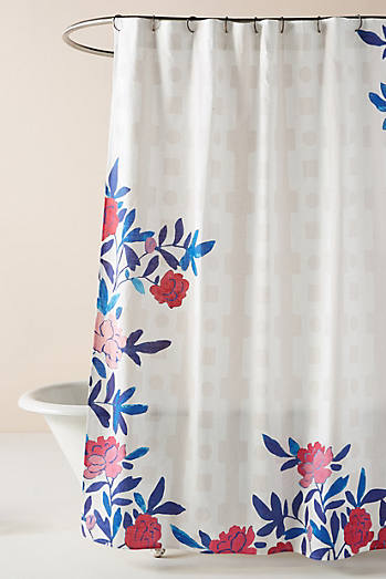 Unique Modern Boho Shower Curtains Anthropologie