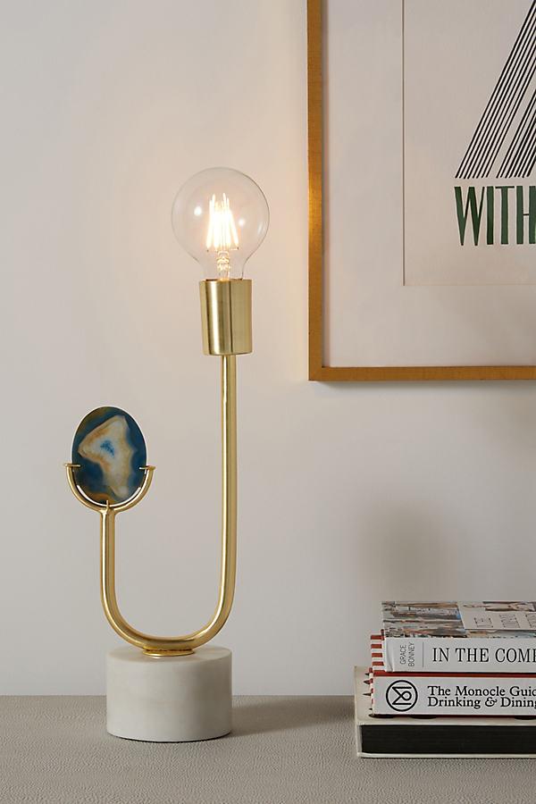 Lara Table Lamp - Blue, Size S