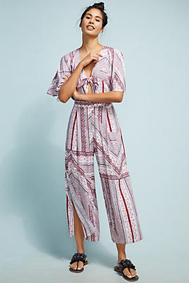 Slide View: 1: Seafolly Striped Jumpsuit