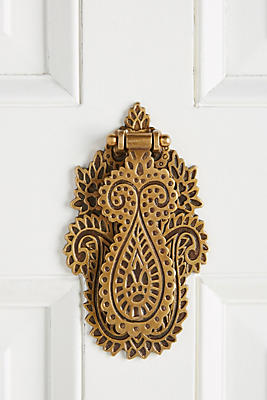Slide View: 1: Rana Door Knocker