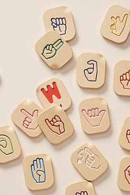 Slide View: 1: Sign Language Alphabet Set