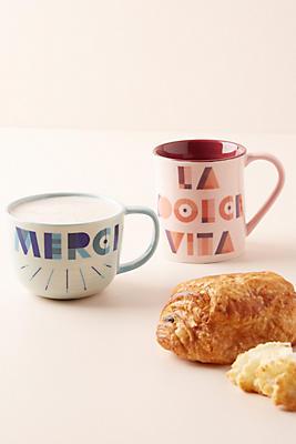 Slide View: 2: Typography Mug
