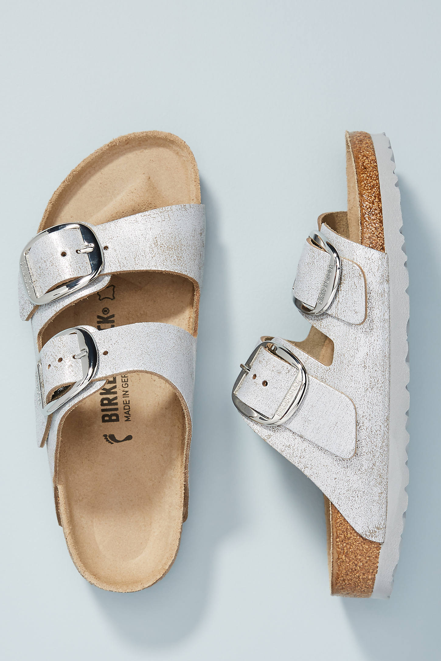 Birkenstock Arizona Sandals In Blue