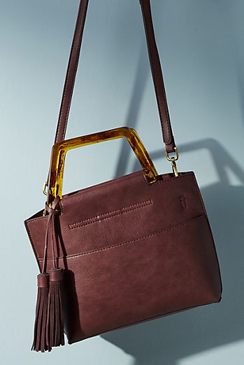 Janie Lucite Handled Tote Bag