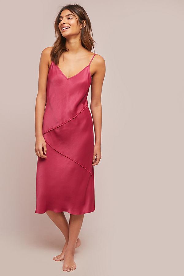 Rosalina Slip Dress - Purple, Size Xl