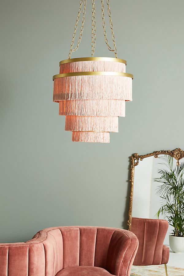 Slide View: 1: Aloha Fringe Chandelier