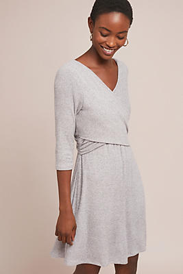 Slide View: 1: Yarmouth Brushed Fleece Dress