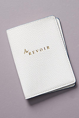 Slide View: 1: Au Revoir Passport Holder