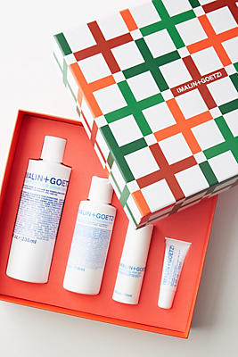 Slide View: 1: Malin + Goetz Skin Care Essentials Gift Set