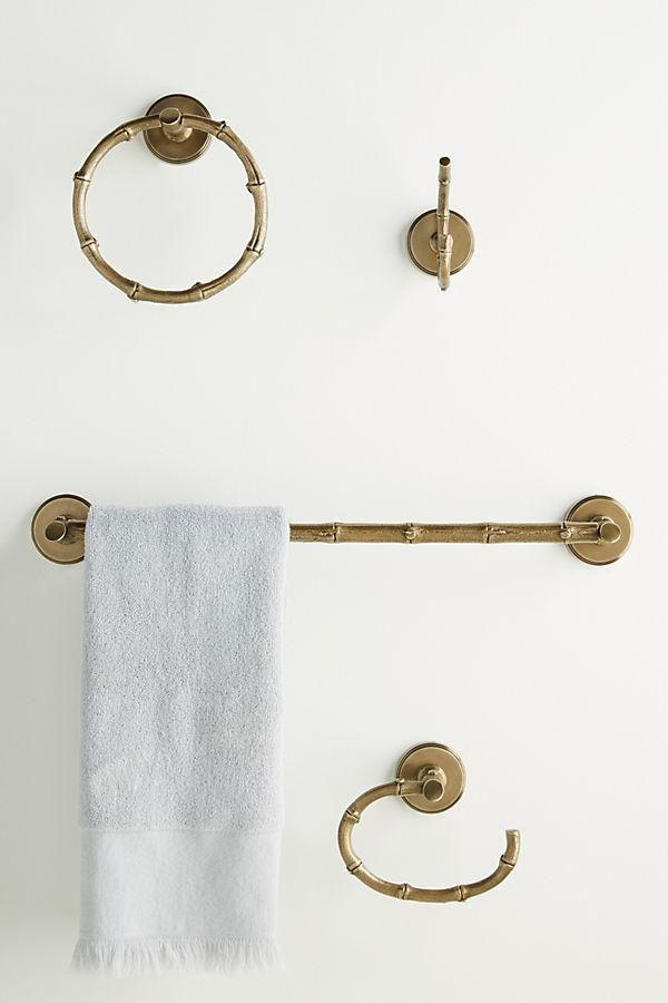 Slide View: 2: Bamboo Toilet Paper Holder