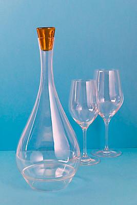 Slide View: 2: Lâ??Atelier du Vin Round Perched Wine Carafe