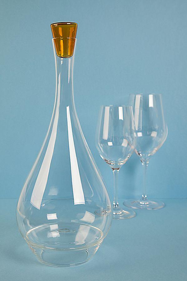 Slide View: 1: Lâ??Atelier du Vin Round Perched Wine Carafe