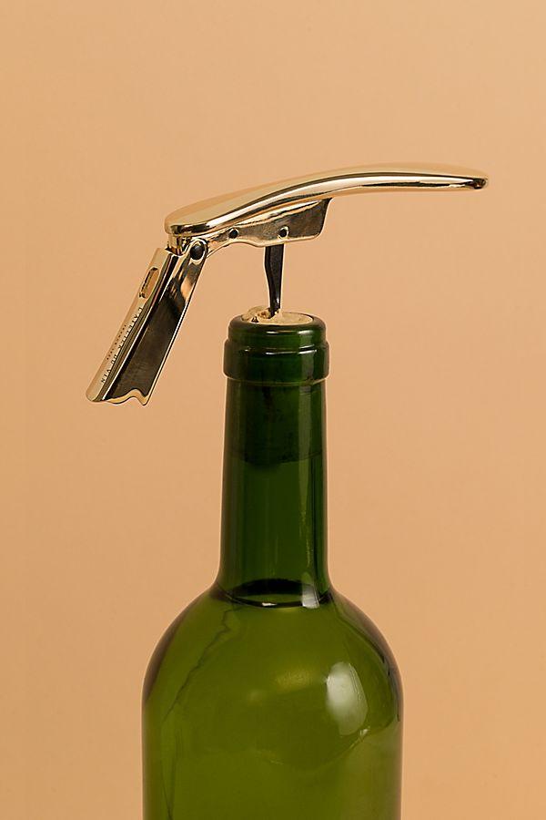 Slide View: 2: Lâ??Atelier du Vin Golden Boy Corkscrew