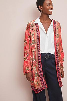 Slide View: 1: Charlie Floral Kimono