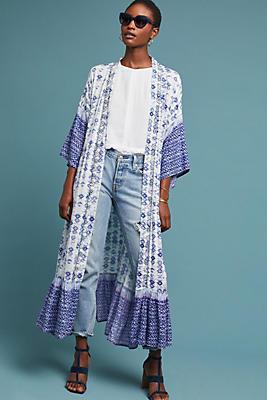Slide View: 1: Mel Duster Kimono
