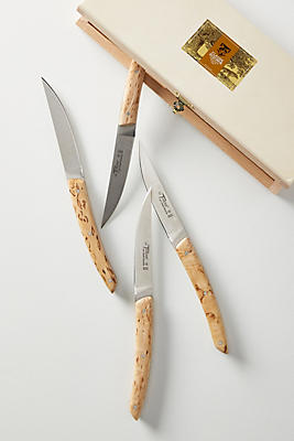 Slide View: 1: Birch Steak Knives Gift Set