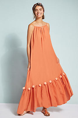 Slide View: 1: Clea Pommed Dress