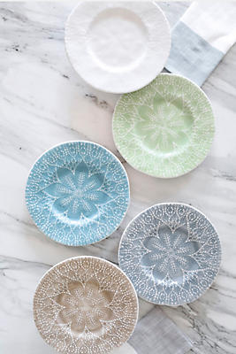 Slide View: 1: Viva by Vietri Lace  Dinner Plate