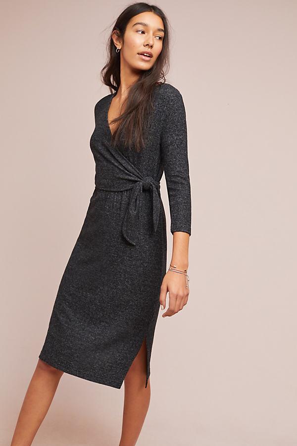 Winter CloudFleece Dress - Grey, Size M