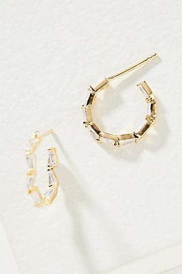Jenna Hoop Earrings by Anthropologie