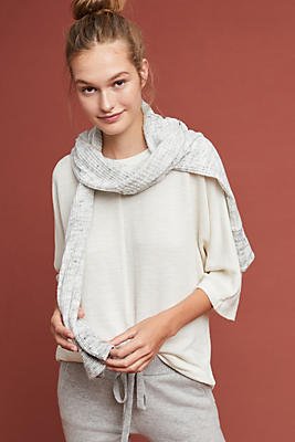 Slide View: 1: Amena Textured Pullover