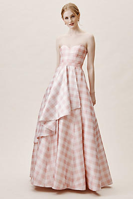 Slide View: 1: Tosia Gingham Dress