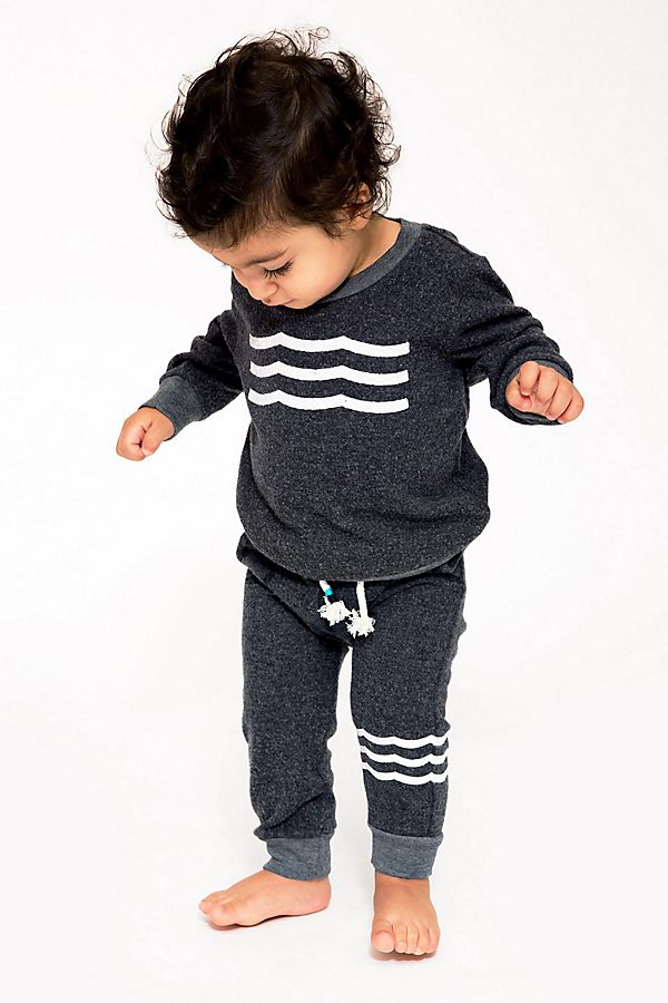 Slide View: 1: Sol Angeles Baby Waves Pullover