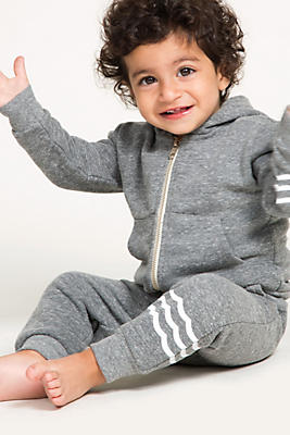 Slide View: 1: Sol Angeles Baby French Terry Waves Jogger