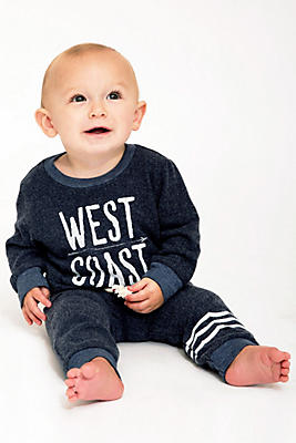 Slide View: 1: Sol Angeles Baby West Coast Pullover