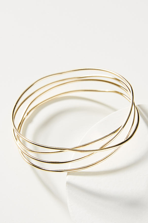 Twisted Vines Bracelet - Gold