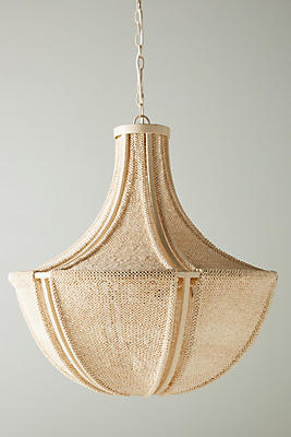 Slide View: 2: Jessa Beaded Chandelier