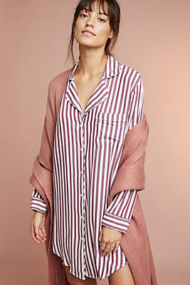 Slide View: 1: Rails Acadia Striped Sleep Shirt