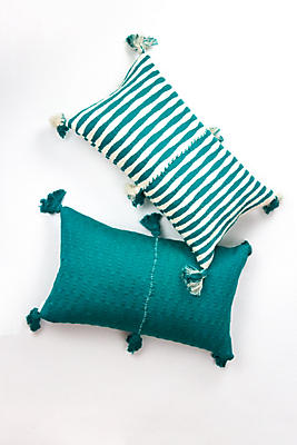 Slide View: 1: Archive New York Deep Jade Antigua Pillow