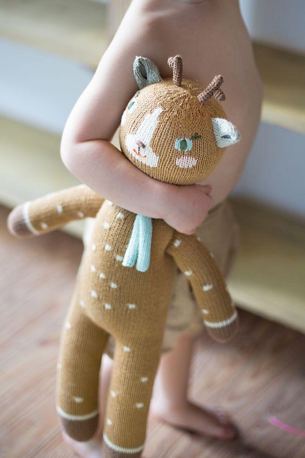 Slide View: 1: Blabla Kids Jasper the Deer Doll