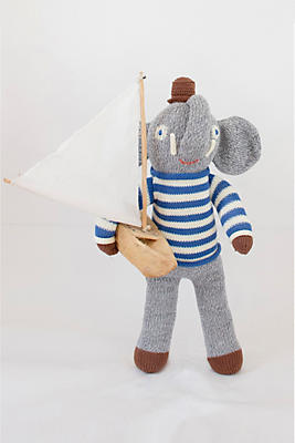 Slide View: 1: Blabla Kids Rivier the Elephant Doll