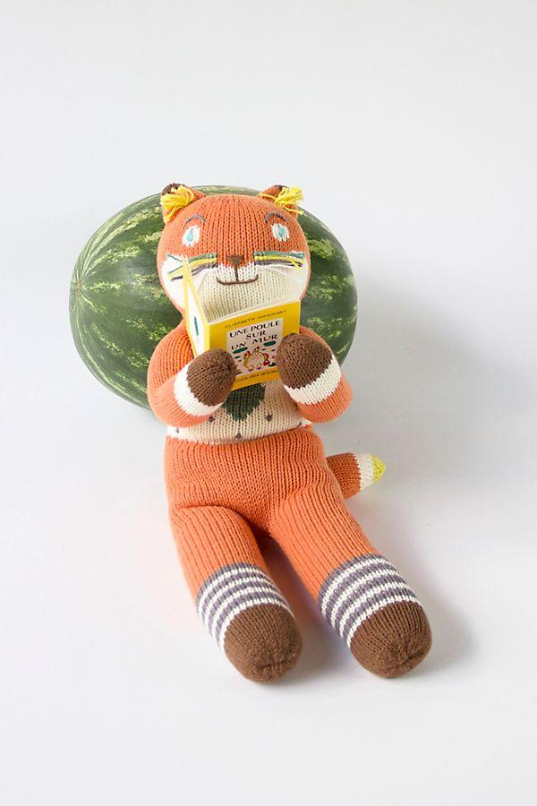 Slide View: 1: Blabla Kids Socks the Fox Doll