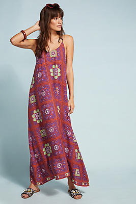 Slide View: 1: Natalie Martin Heather Maxi Dress