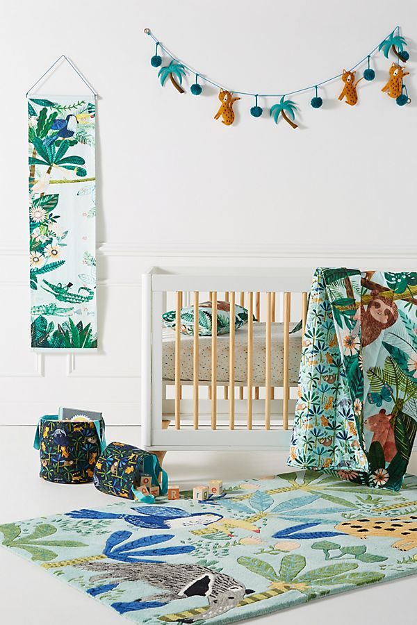 Slide View: 6: Rebecca Jones Tropical Kids Quilt