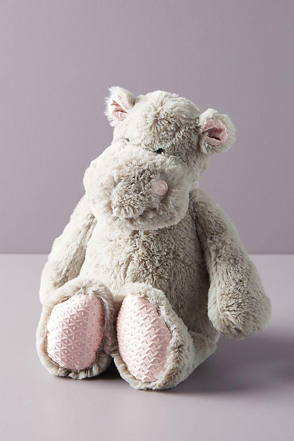Slide View: 1: Helen the Hippo Stuffed Animal