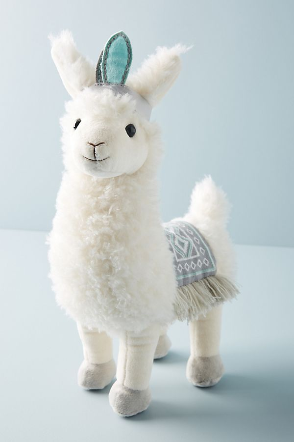 Slide View: 1: Lucy the Llama Stuffed Animal