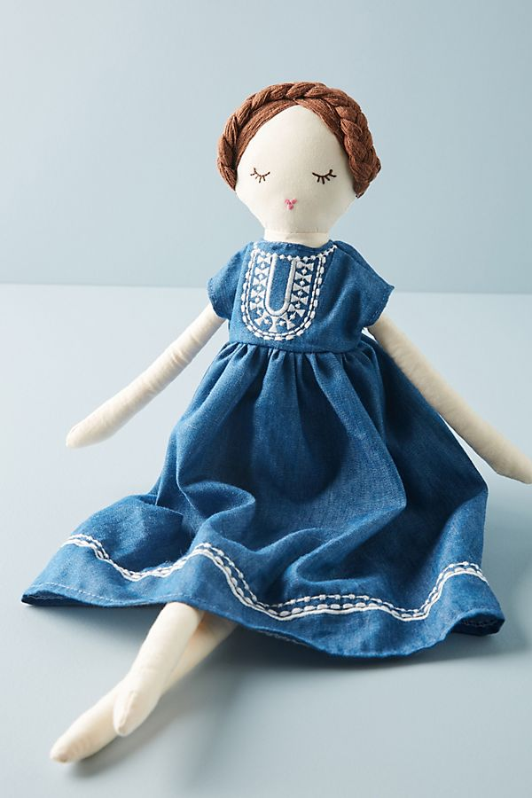 Slide View: 1: Bea the Bohemian Stuffed Doll