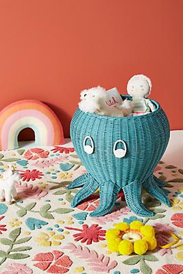 Slide View: 1: Ozzy Octopus Storage Bin